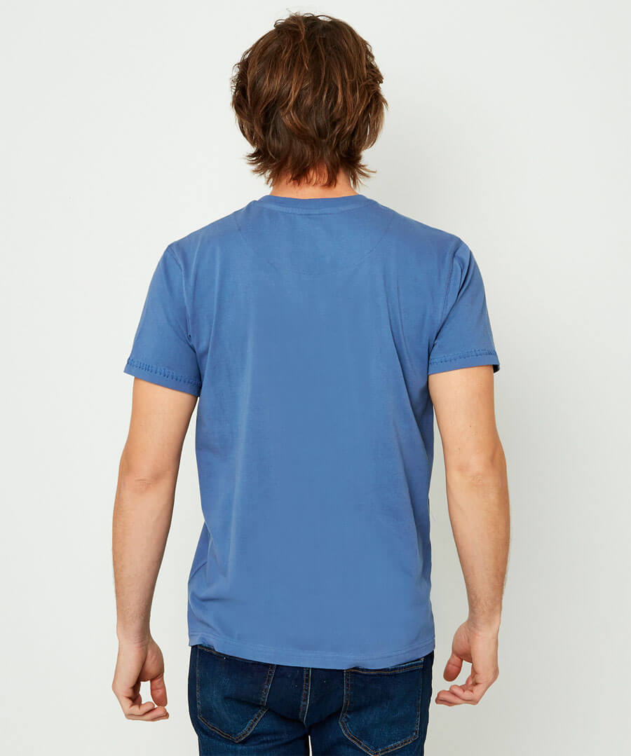 In The Detail Tee Model Back