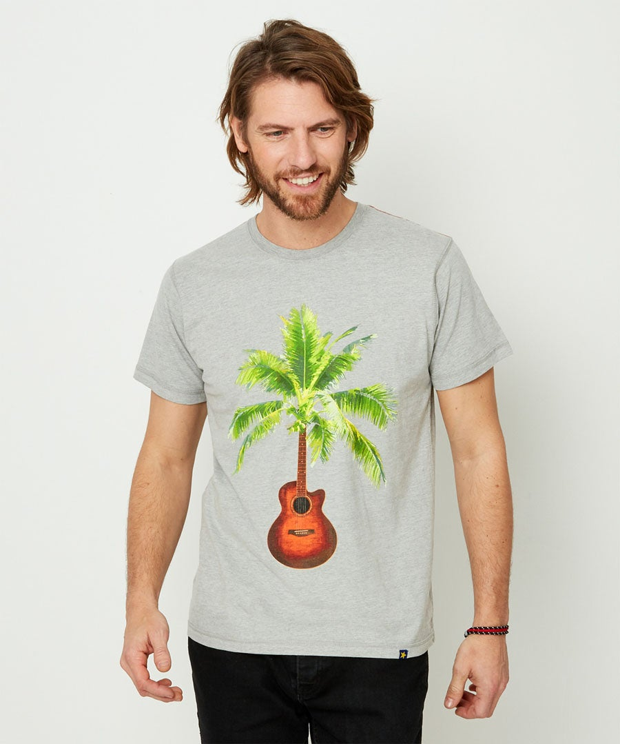 Touch Of Tropic Tee Model Front