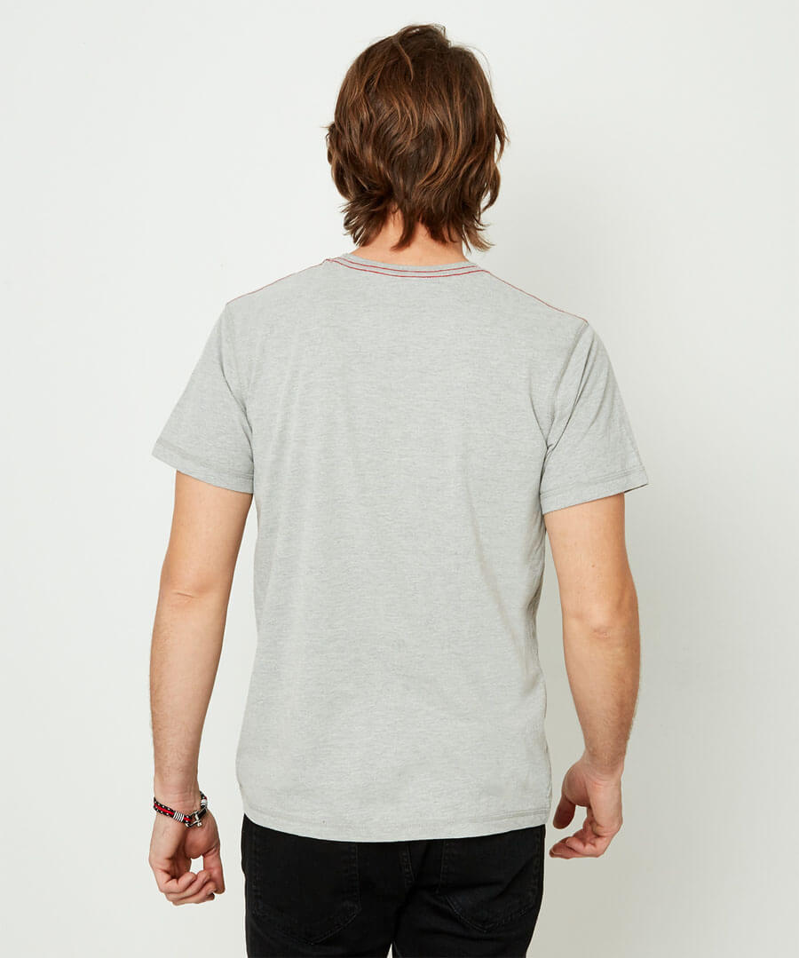 Touch Of Tropic Tee Model Back