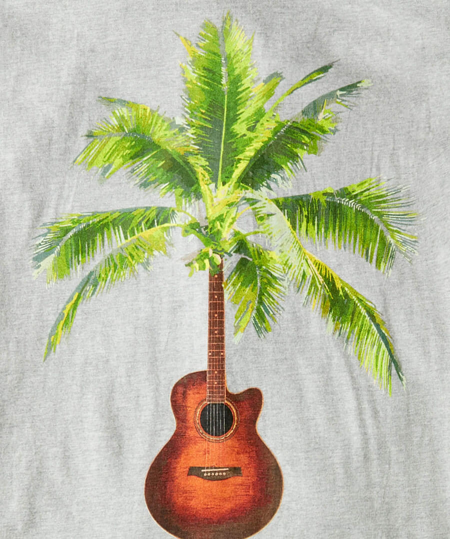 Touch Of Tropic Tee Back