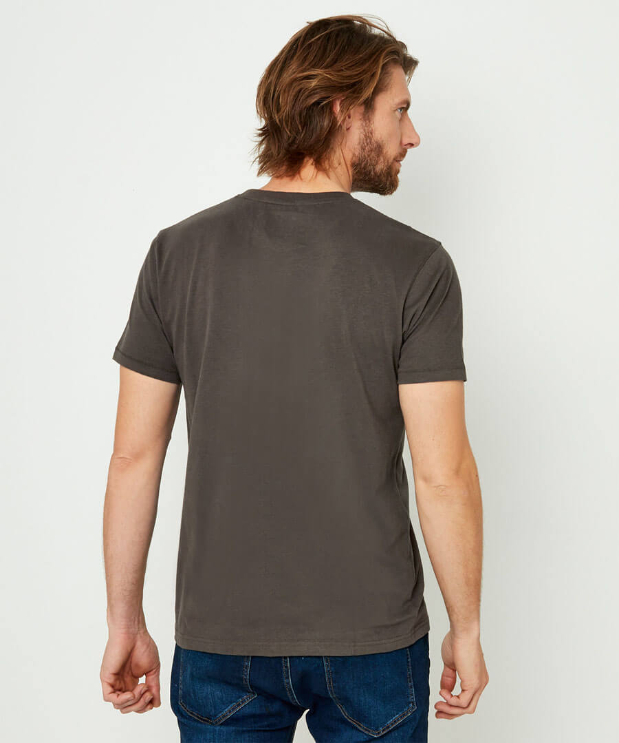Made To Ride Tee Model Back