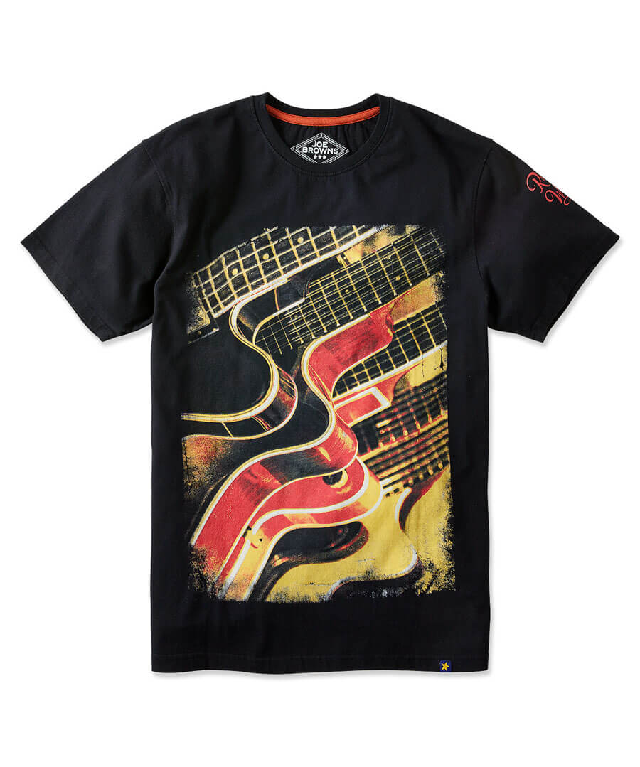 Abstract Guitar Tee