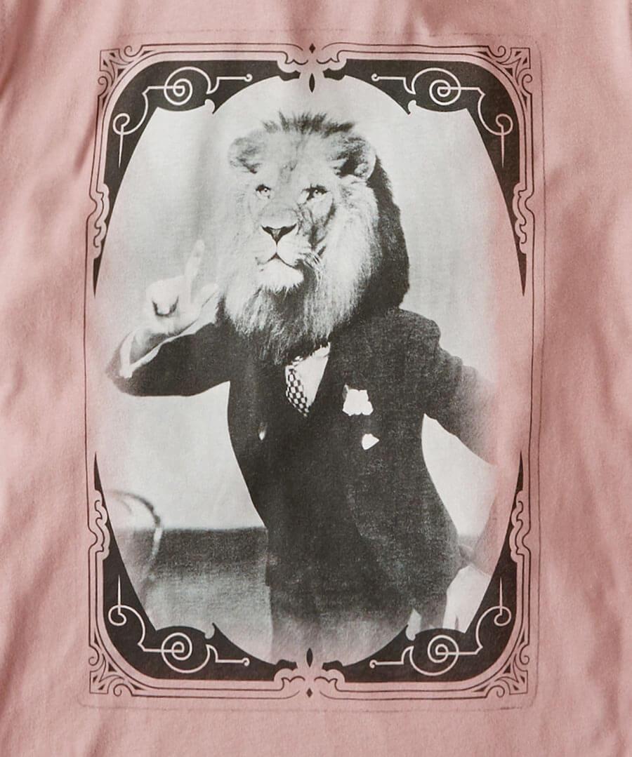 Dapper Lion Tee Back