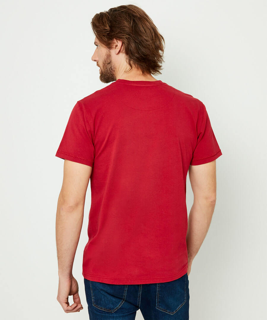 Guitar Design Tee Model Back