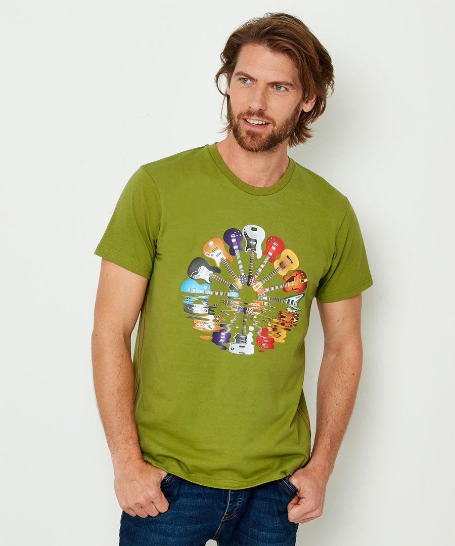 Remarkable Reflection Tee Model Front