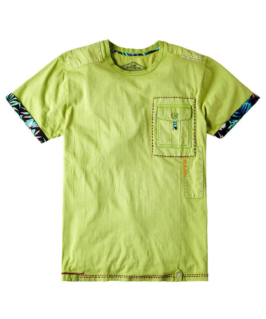 Customised Tee Model Front