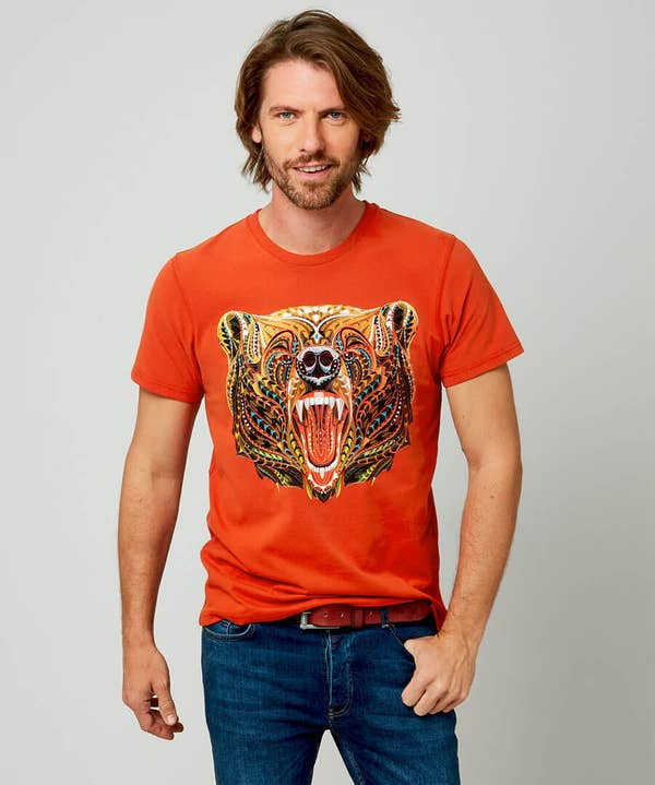 Geo Bear Tee