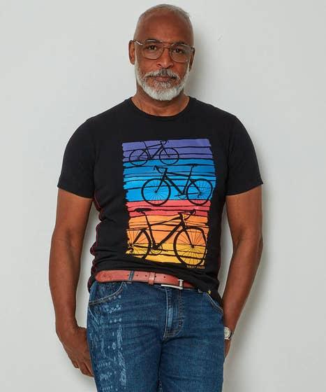 Sunset Bike Tee