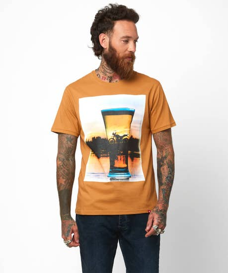 Reflect With a Beer Tee