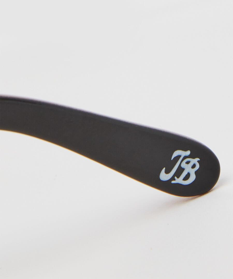 Milky Brown Glam Sunglasses Back