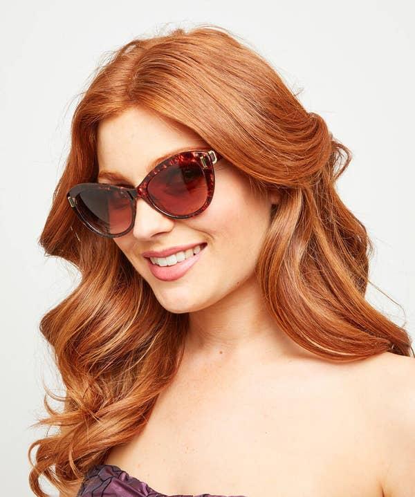 Retro Soft Camo Sunglasses