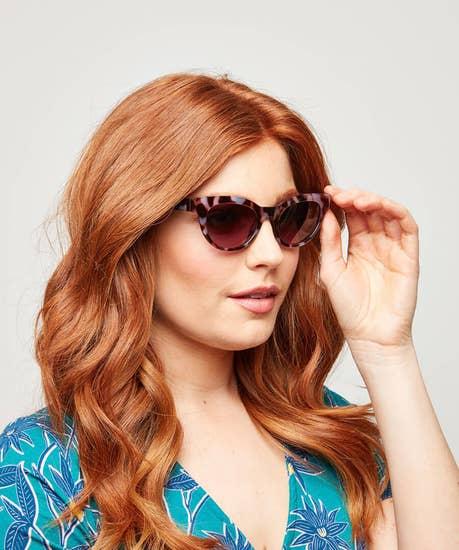 Retro Eye Cat Sunglasses
