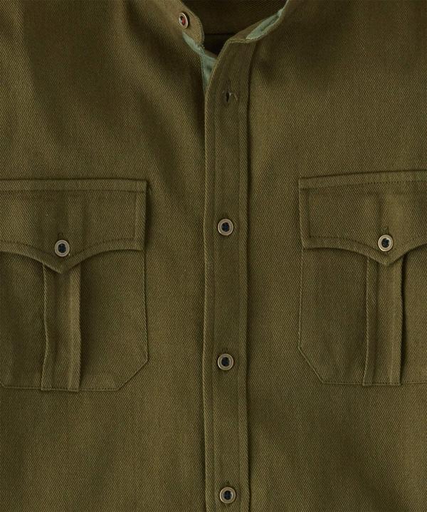 Military Grandad Shirt
