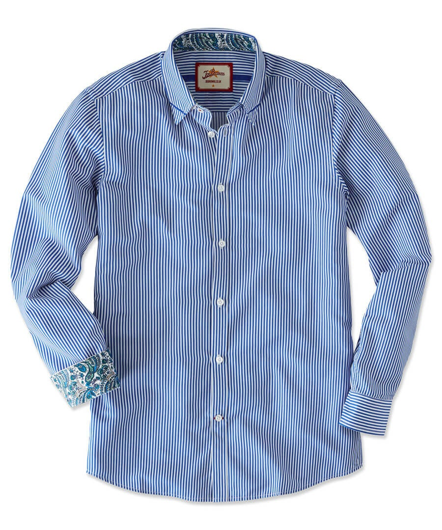 Sensational Stripe Shirt Model Front