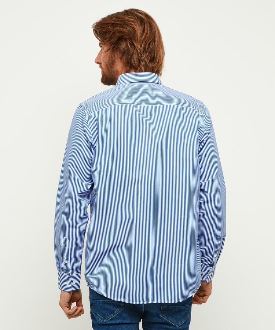 Sensational Stripe Shirt Model Back