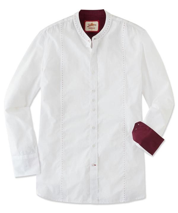 Stab Stitch Grandad Shirt