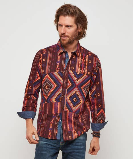 Perfect Patterned Shirt