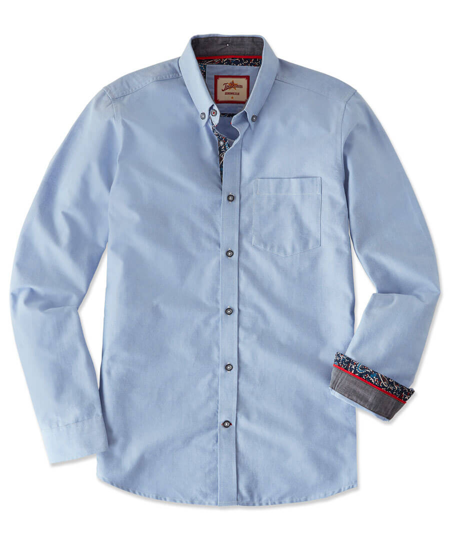 No Ordinary Oxford Shirt Model Front