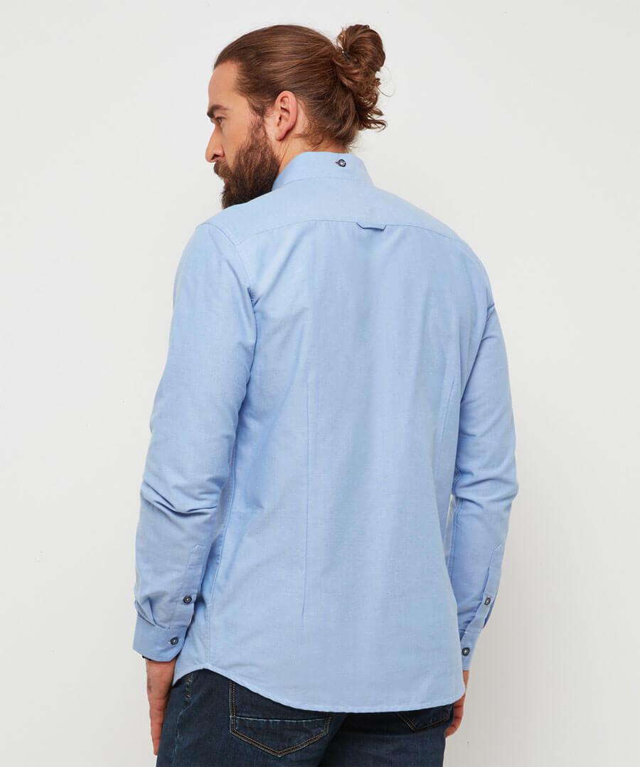No Ordinary Oxford Shirt Model Back