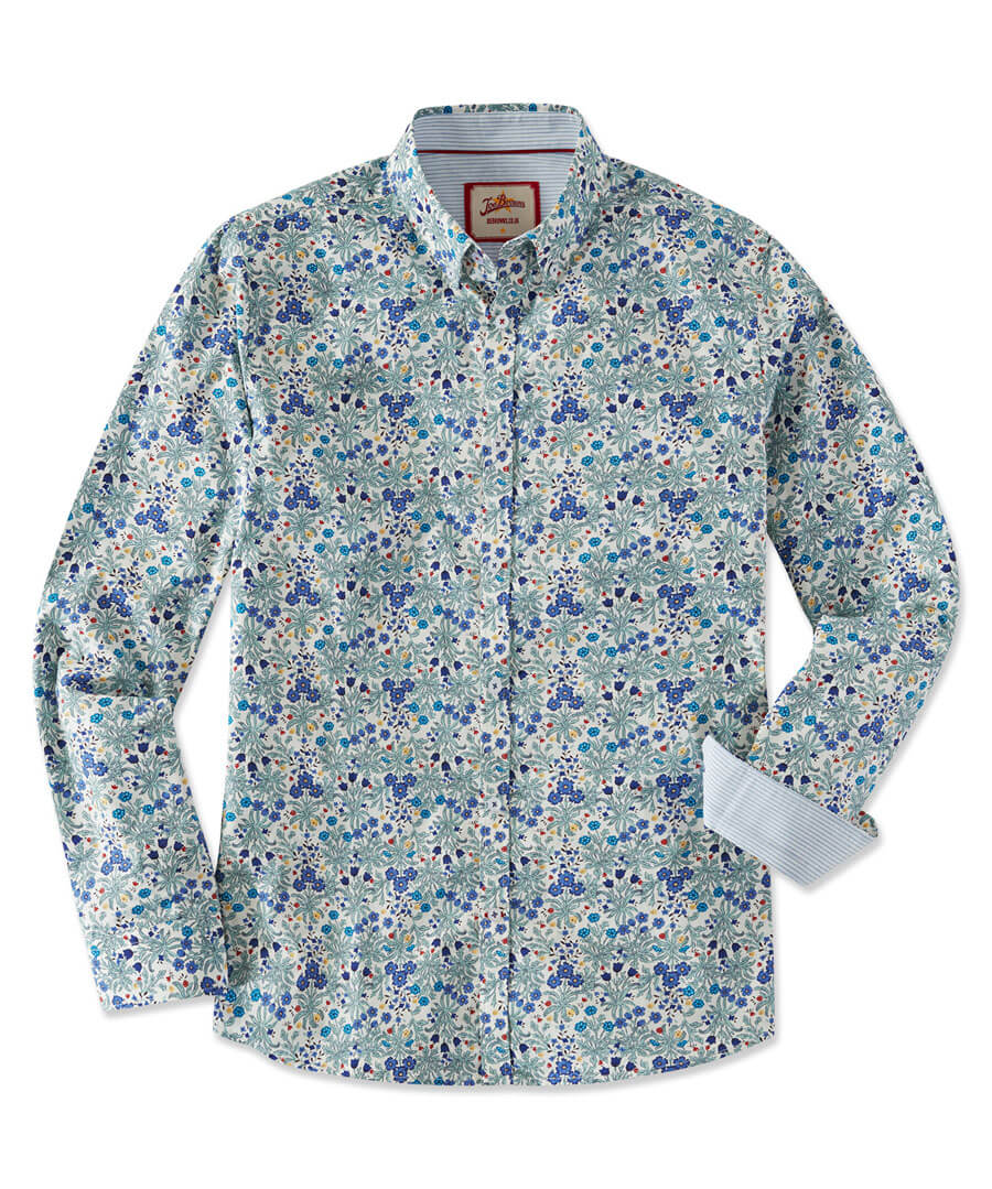 Delightfully Ditsy Shirt Model Front