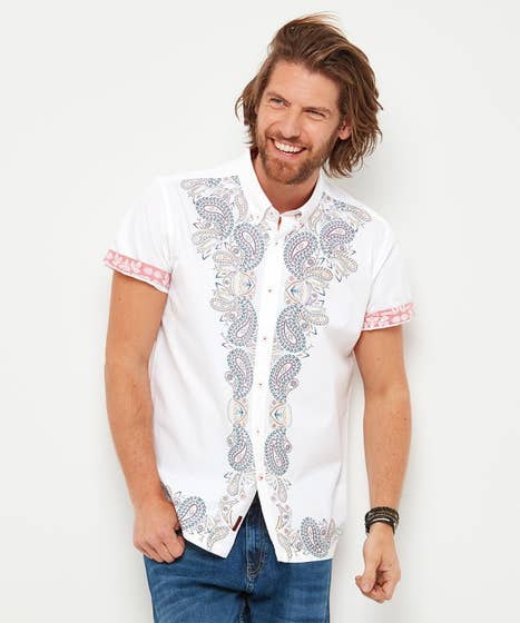 Paisley Placement Shirt