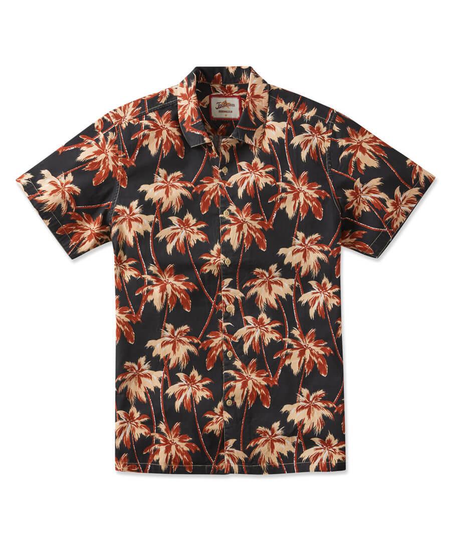 Retro Palms Shirt Model Front