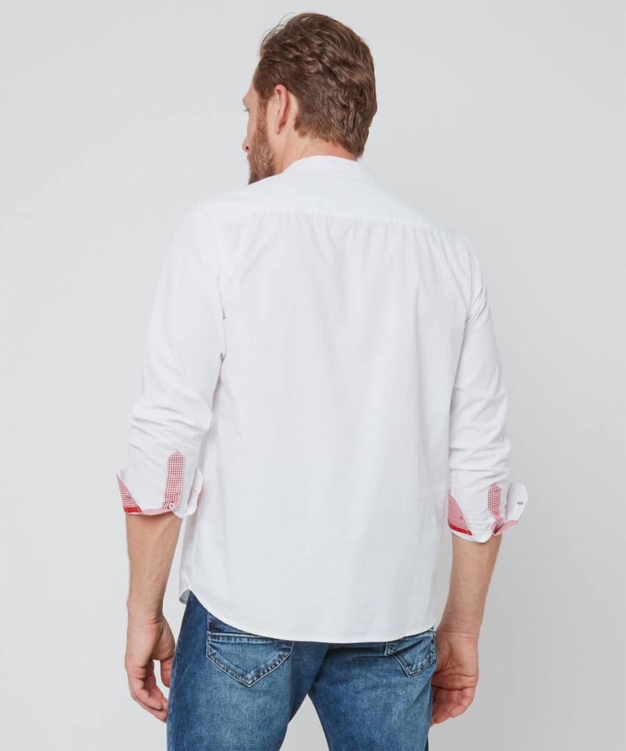 Musical Inspired Grandad Shirt Model Back