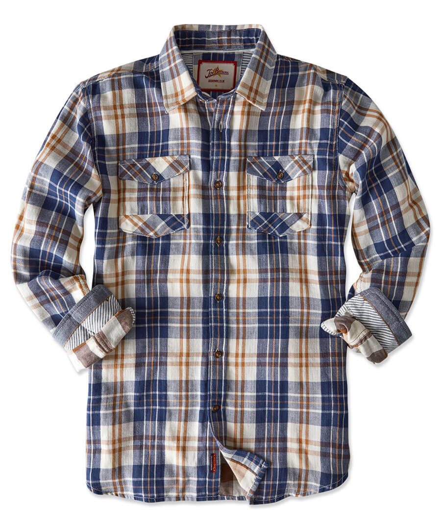 Two In One Check Shirt