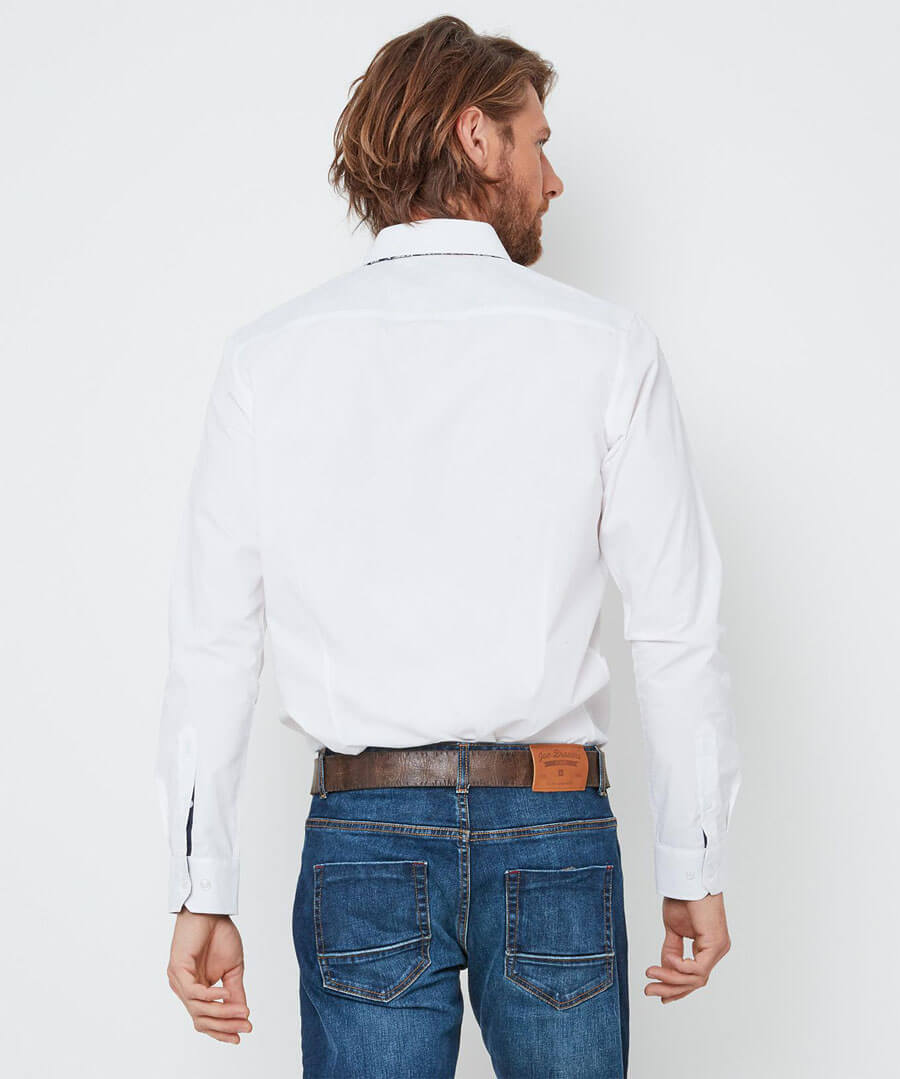Triple The Style Shirt Model Back