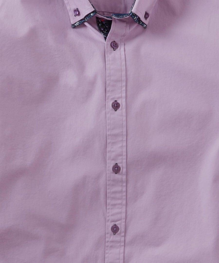 Sensational Double Collar Shirt Back