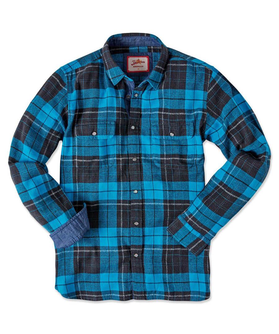 Brilliant Check Shirt Back