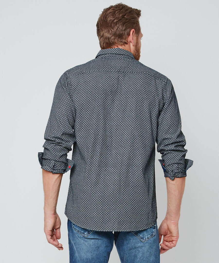 All In The Detail Shirt Model Back