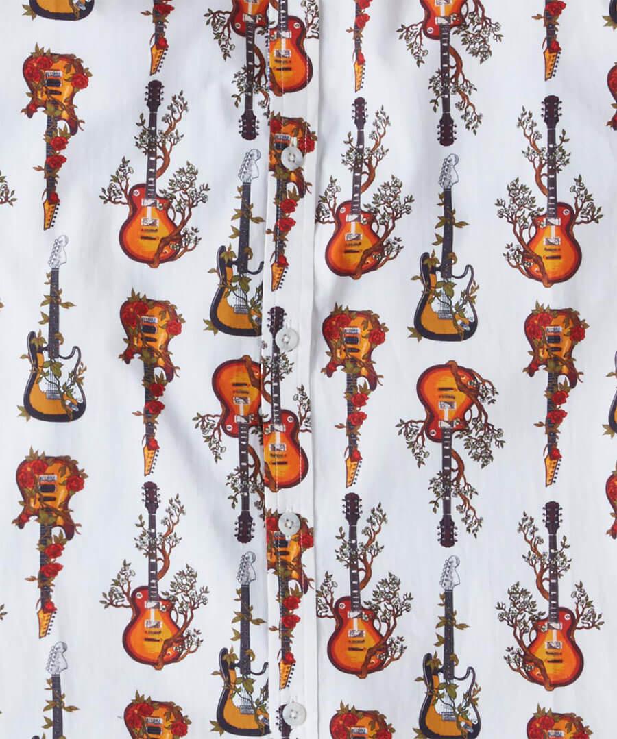 Roots Guitar Shirt Back