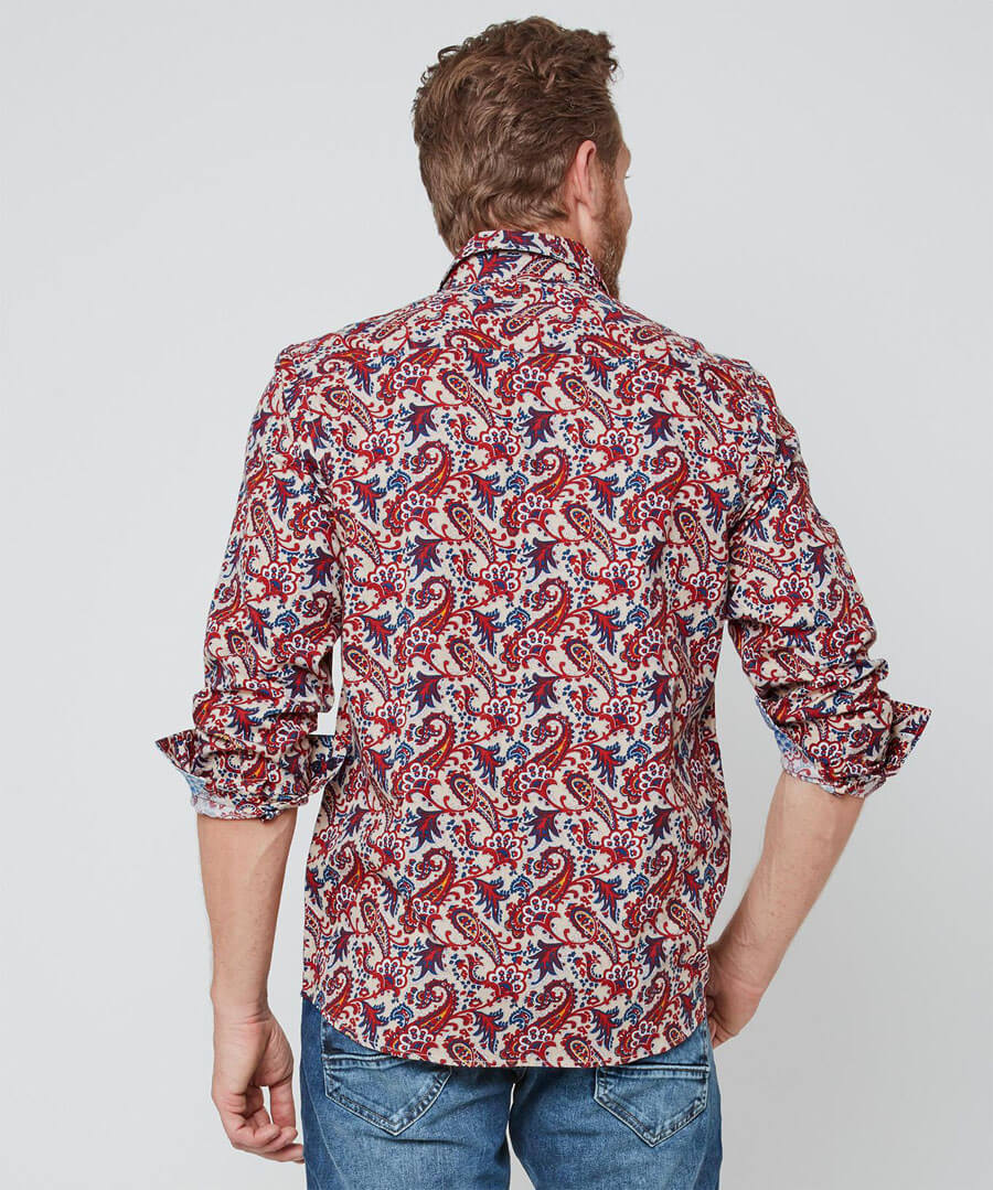 Pop Of Paisley Shirt