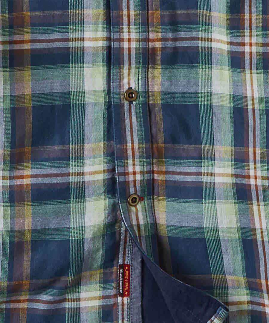Comfortably Cool Check Shirt Back