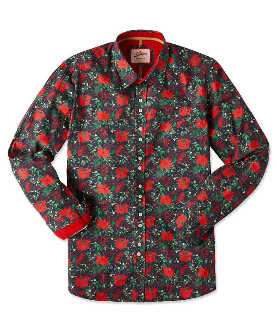 Christmas Floral Shirt