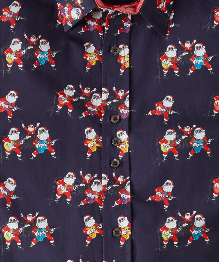Santas Band Shirt Back