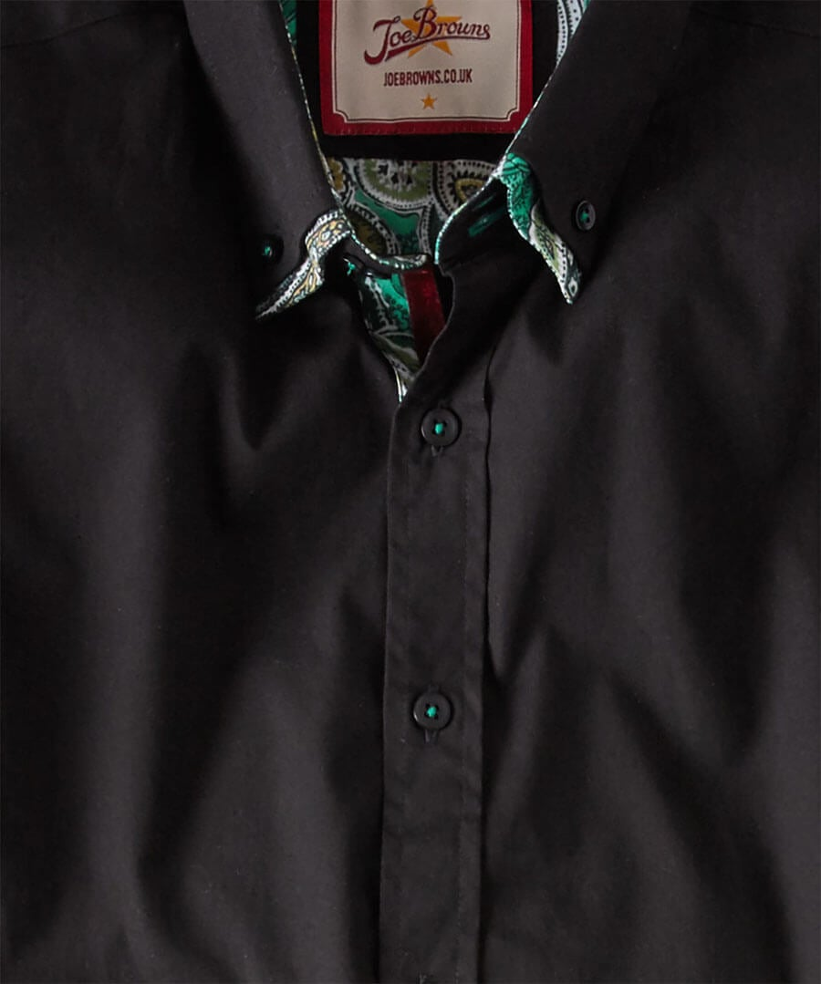 Delighted Double Collar Shirt Back