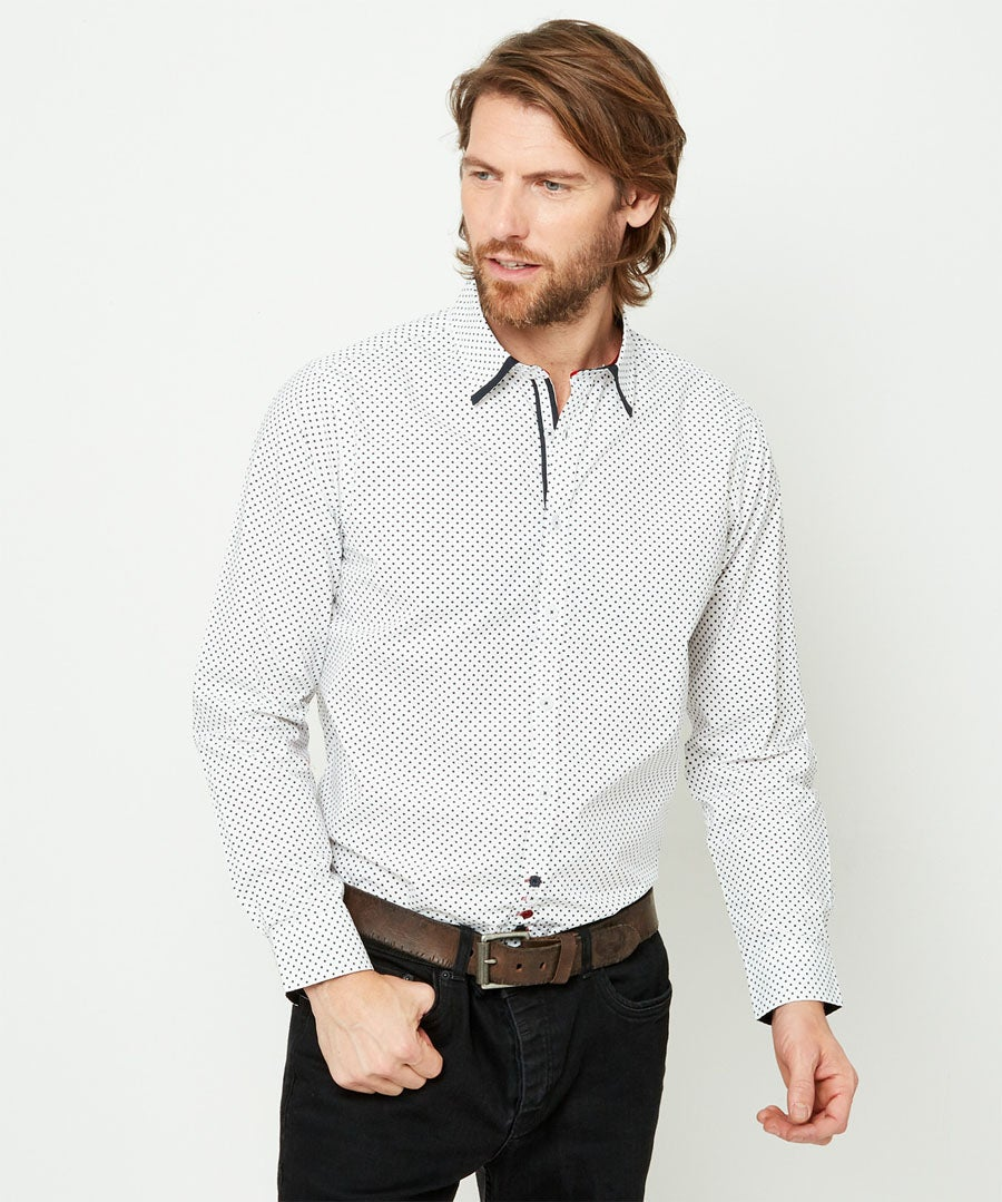 Suberb Star Shirt Model Front