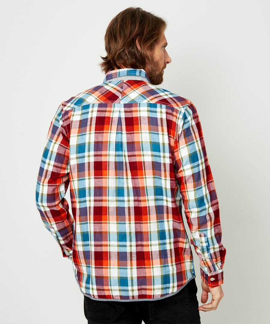 Inside Out Shirt Model Back