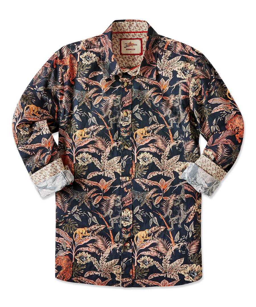 In The Jungle Shirt Back