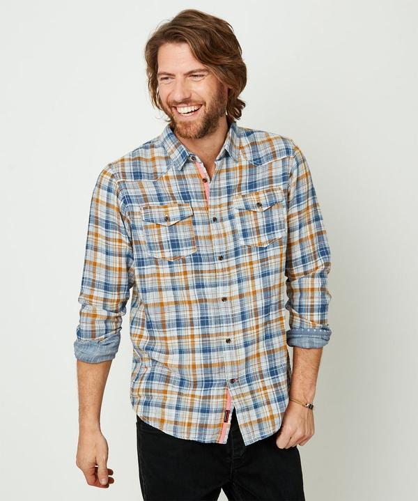 Two Way Check Shirt