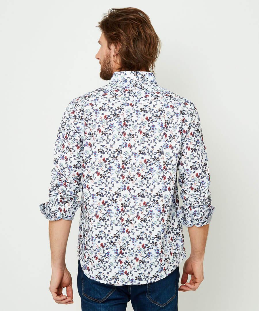Delightful Ditsy Shirt Model Back