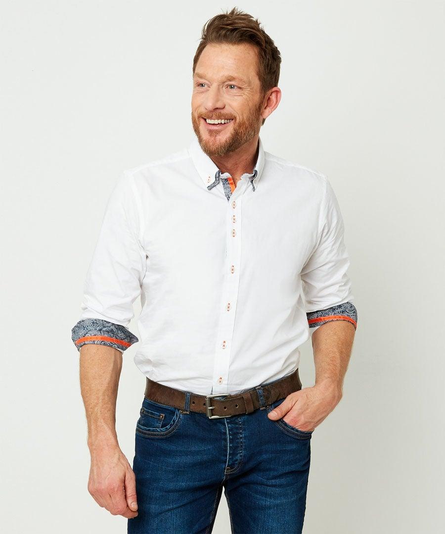 Tailored Dapper Shirt Model Front