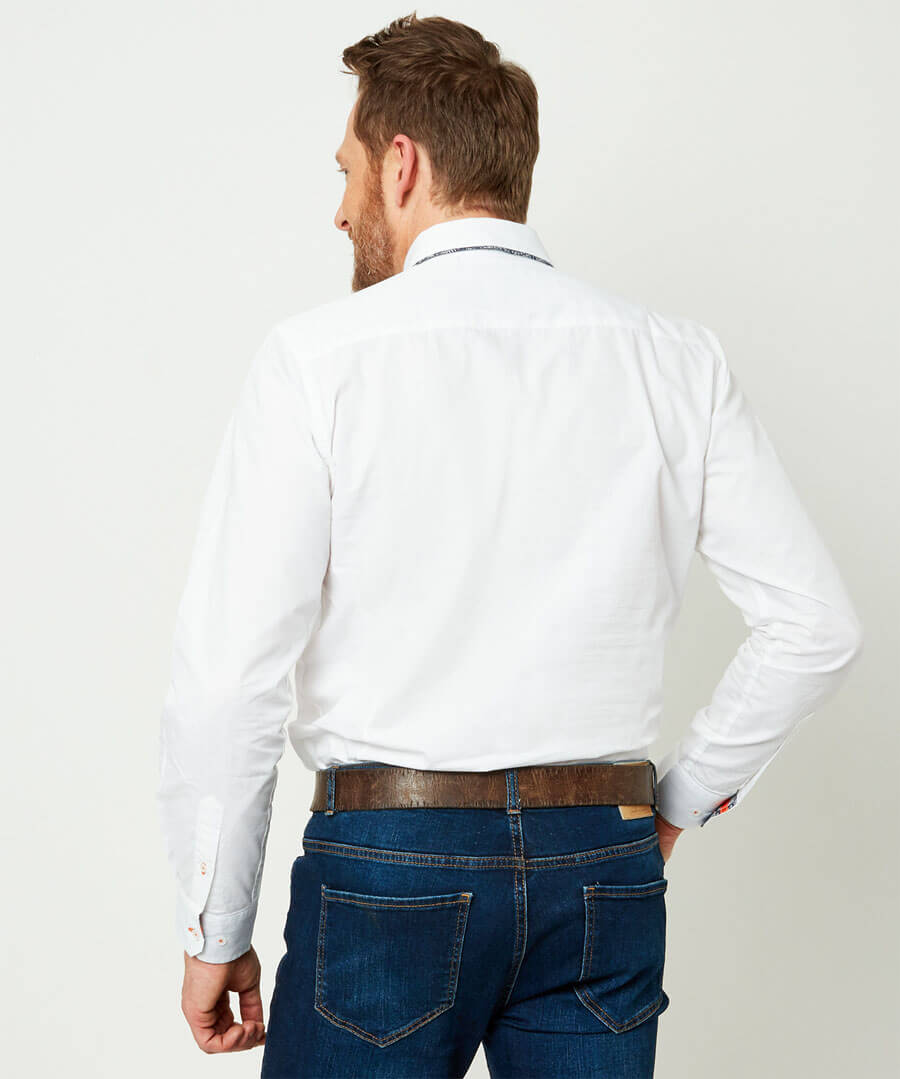 Tailored Dapper Shirt Model Back