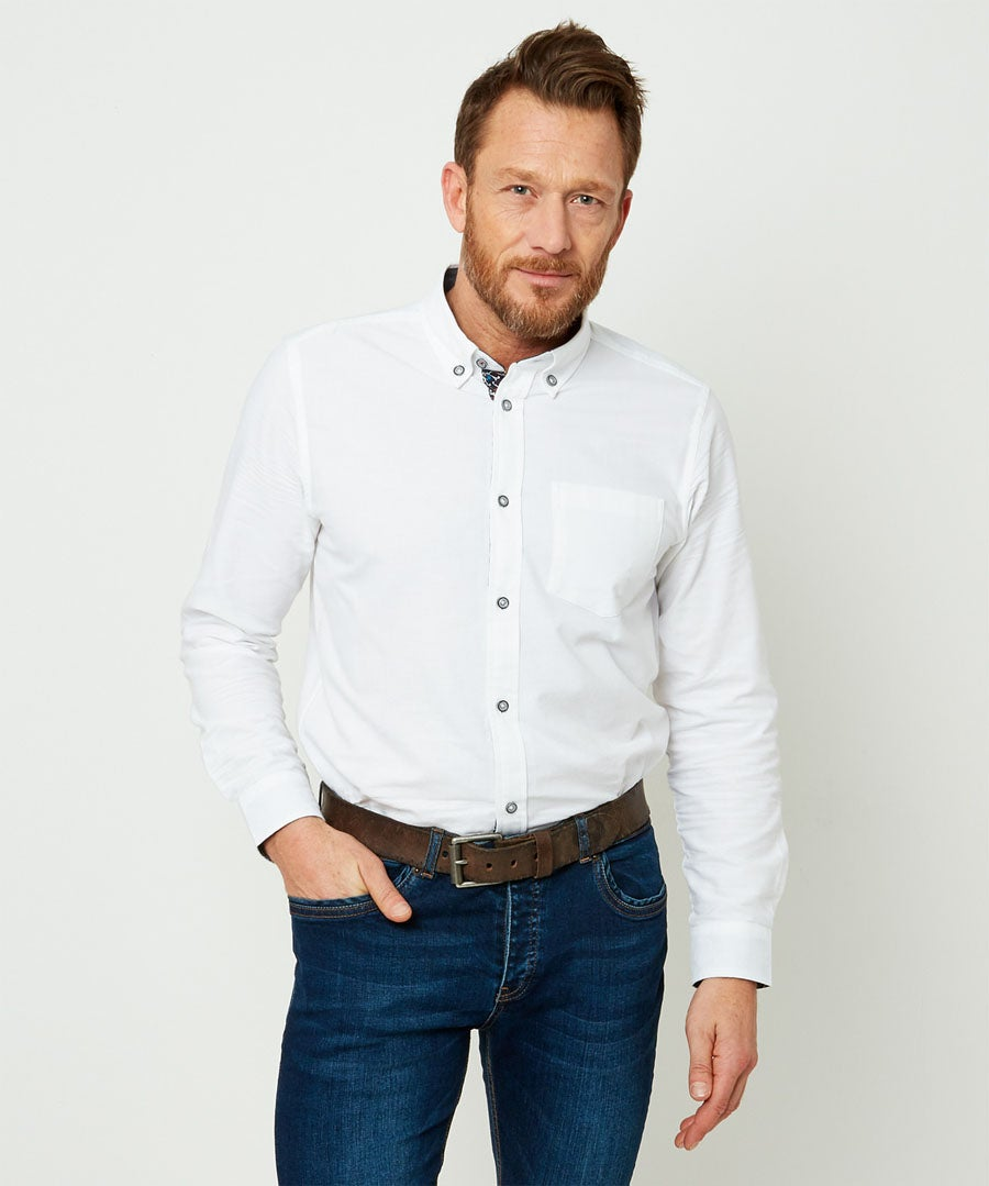 No Ordinary Oxford Shirt Model Front