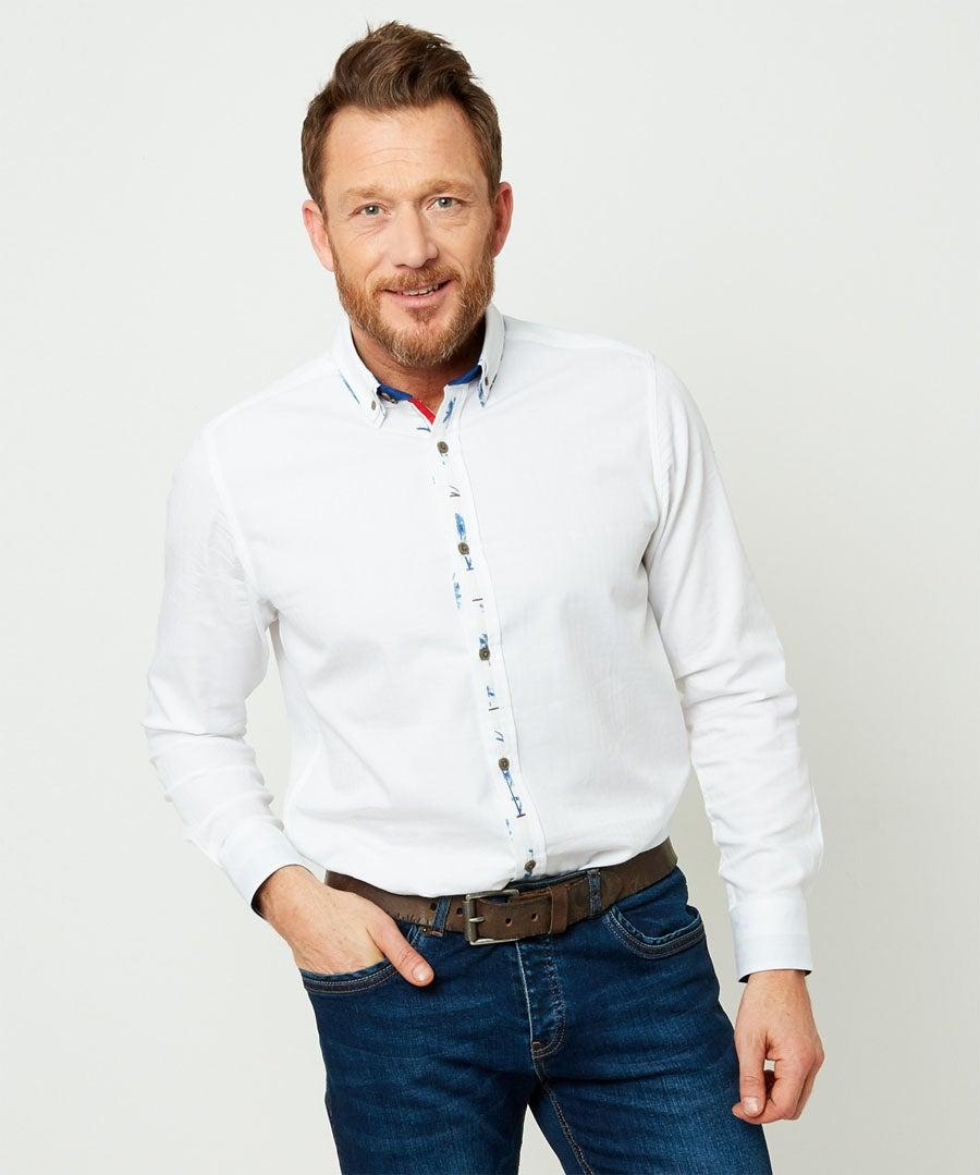 Perfect Placket Shirt Model Front
