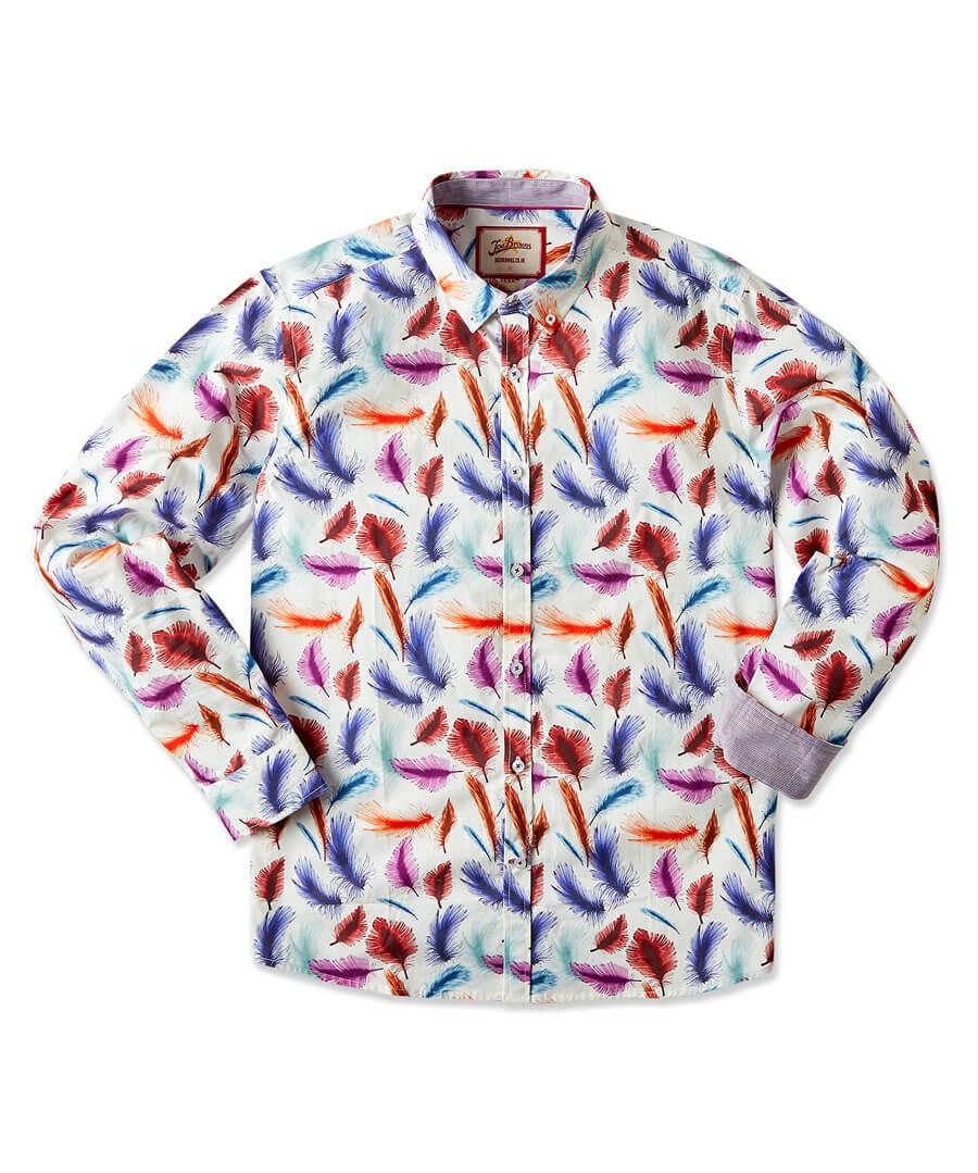 Fabulous Feather Shirt