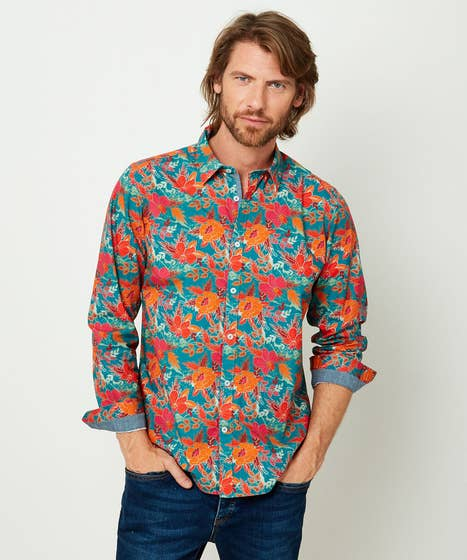 Fabulous Floral Shirt