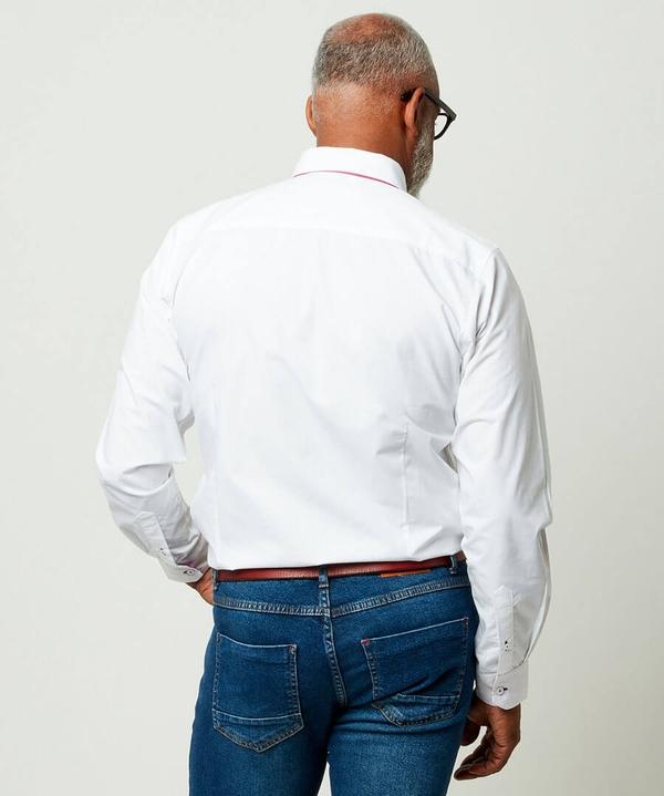 Delectable Double Collar Shirt